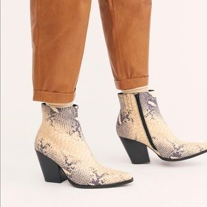 NEW Jeffrey Campbell x Free People Flynn Boots